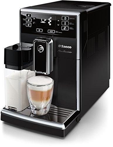 Saeco PicoBaristo HD8925/01 Kaffeevollautomat integriertes Milchsystem, AquaClean-Filter schwarz