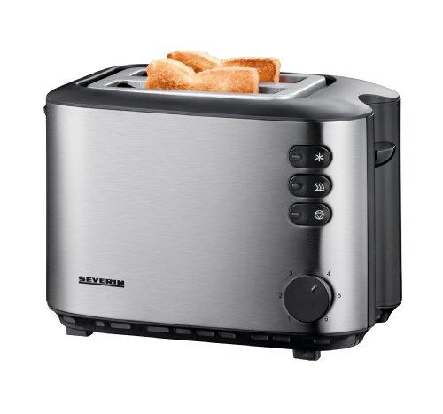 Severin AT 2514 Automatik-Toaster 850 Watt, edelstahl
