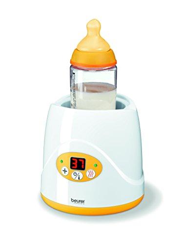 Beurer BY 52 Babykostwärmer und Fläschchenwärmer mit Warmhaltefunktion und LED-Display