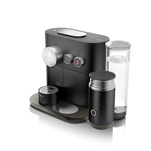Krups Nespresso XN6018 Kapselmaschine Expert&Milk mit Aeroccino3 und Bluetoth, Thermoblock-Heizsystem, 19 bar, schwarz
