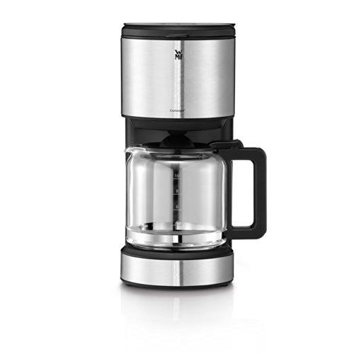 WMF Stelio 6130241110 Aroma Kaffeemaschine, 1000 Watt, mit Glakanne, schwarz/edelstahl