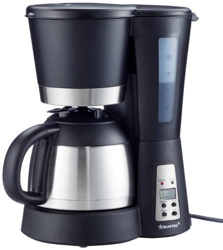 SUNTEC Filter-Kaffeemaschine KAM-9004 Mit Timer-Programmierung + Anti-Tropf-Feature, Thermoskanne 1,0 l, max. 800 Watt