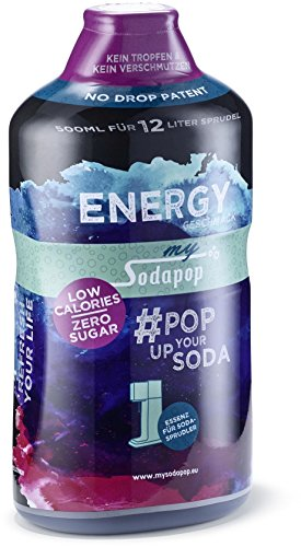 MySodapop Getränkesirup, Energy