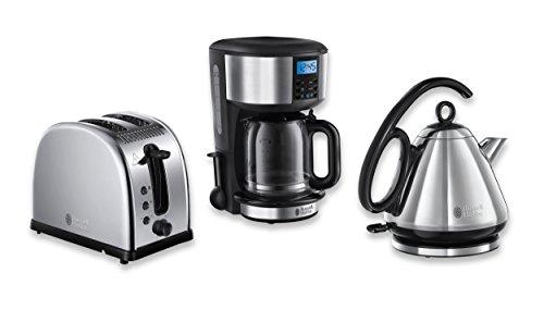 russell hobbs fr hst ck set 3 tlg kaffeemaschine wasserkocher toaster legacy serie cinortalc