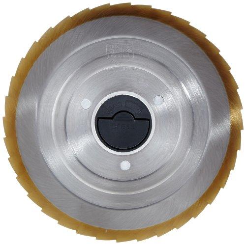 Graef 1641008 Edelstahlmesser gezahnt mit Titanbeschichtung, passend für Modelle:F1, F5, F9, N1, T9, T10, T16