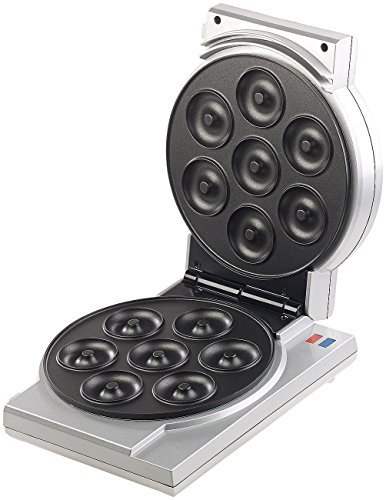 Rosenstein & Söhne Cake Pop Maker: 3in1-Donut-, Cupcake- und Cakepop-Maker, antihaftbeschichtet, 850 W Waffeleisen