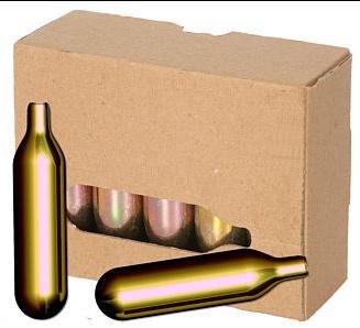 40 St ilggro Bierkapseln für alle Bierzapfanlagen mit 16 g CO2 Biermaxx Zapfprofi