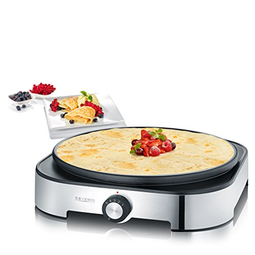 severin cm 9469 crepes maker 125 jahre jubil ums edition mit 4 silikon ringen 1500 watt 0 2 l. Black Bedroom Furniture Sets. Home Design Ideas