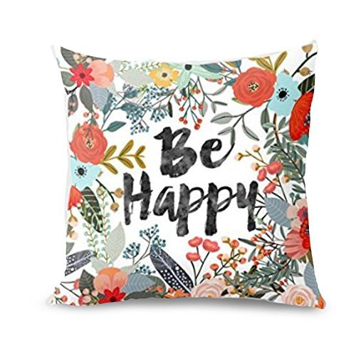 danksagung kissenbezug rechteck cover decor sofa taille wurf pillowcase 45 x 45 cm luckygirls e. Black Bedroom Furniture Sets. Home Design Ideas