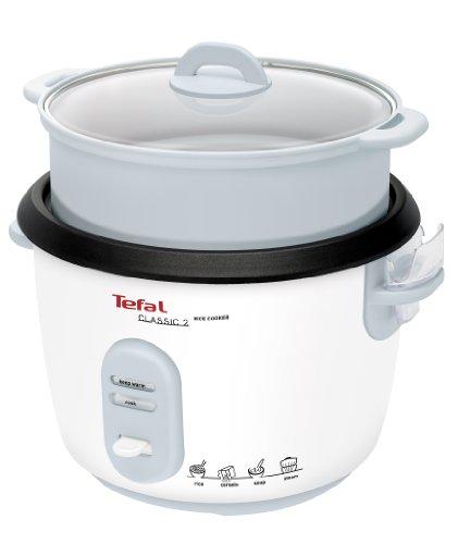 Tefal RK1011 Reiskocher mit Dampfgareinsatz, weiß