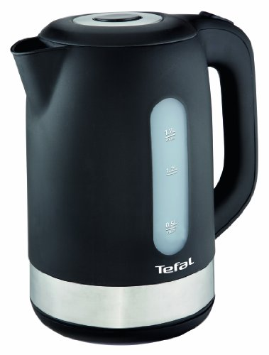 Tefal KO3308 Wasserkocher 2.400 Watt, 1.7 l schwarz