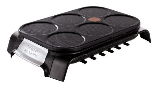 Tefal PY558813 Crep'party Schwarz