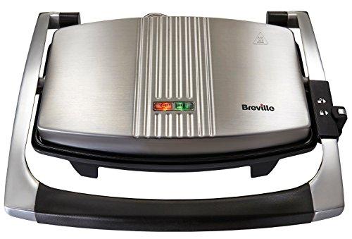 Breville VST025X 3 Scheibe panini Presse Sandwich maker nicht stick