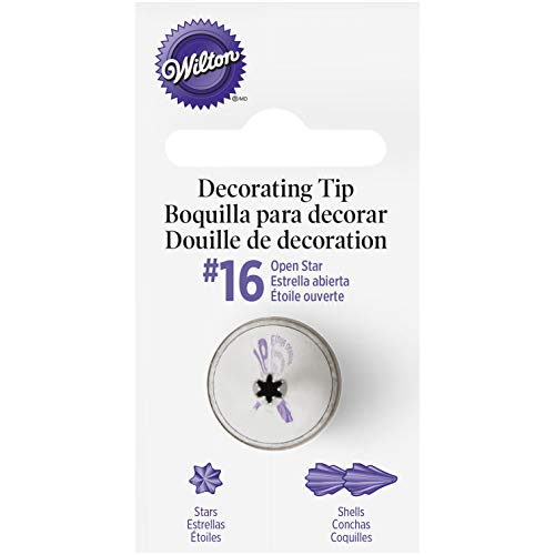 Wilton Piping Tip, Stainless Steel, Silver