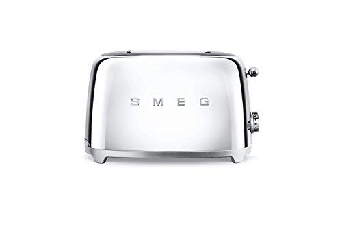 Smeg TSF01SSEU Toaster 2 Scheiben, chrom