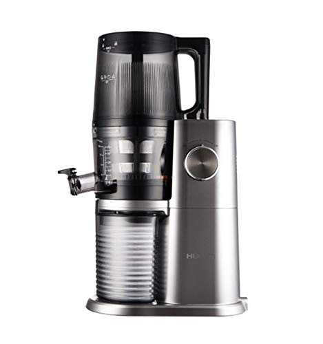 Hurom One Stop h-ai Slow Juicer 200W PLATINUM, Stainless Steel–Juice Makers Slow Juicer, Platinum, Stainless Steel, 60RPM, 0.5l, Rotary, 200W