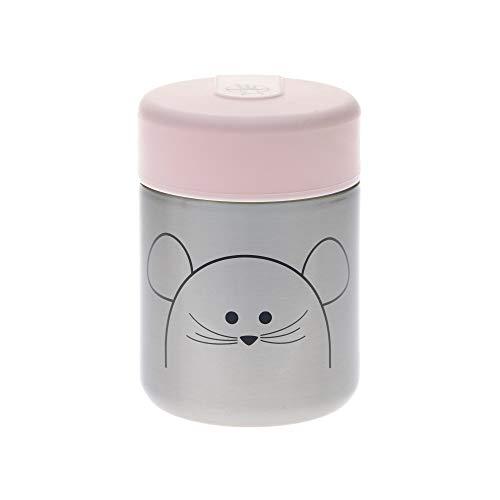 LÄSSIG Baby Kinder Thermo Warmhaltebox Brei Snacks auslaufsicher Edelstahl/Little Chums Mouse
