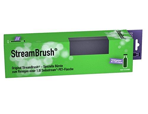 StreamBrush® Flaschenbürste für 1,0 Liter PET Sodastream Flaschen