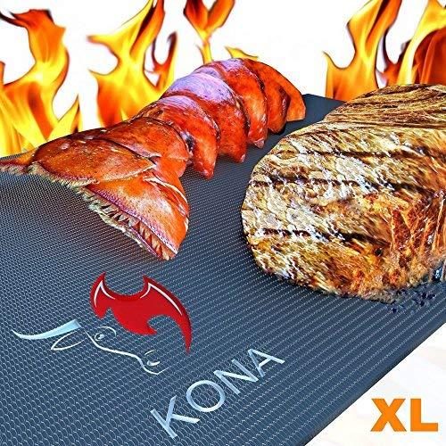 Kona XL Best Grill Matte & Ofen Liner–BBQ Grill Matte bedeckt die gesamte Grill & Ofen unten–Premium Antihaft-63,5x 43,2cm