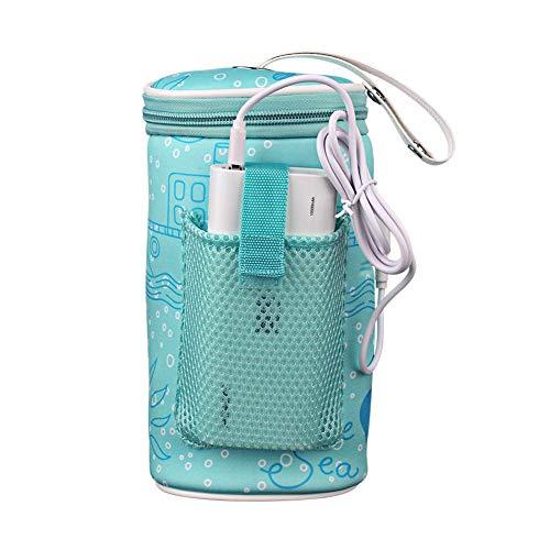 Baby-Flaschen-Beutel-thermischer Fütterungs-Wärmer-Flaschen-Beutel-tragbares Auto-Baby-Flaschen-Heizung intelligentes USB-Heizungs-Werkzeug für Reise im Freien