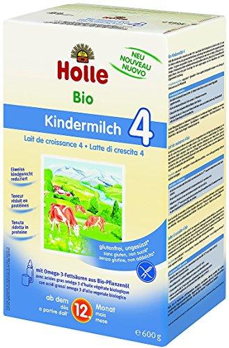 Milch Wachstum 4+ 12meses ökologische, Holle 600gr