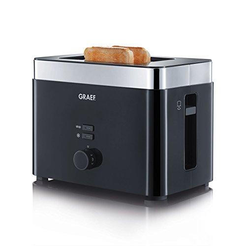 Graef Toaster TO 62, schwarz