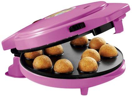 Popcakes, Donuts und Herzplätzchen, 1000W – Princess 01.132700.01.001 Kombigerät 3-in-1 Magic Bakery