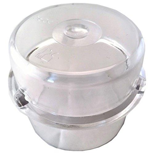 Messbecher 100ml, Becher für die Deckelöffnung passend für Thermomix TM21, TM31, TM3300