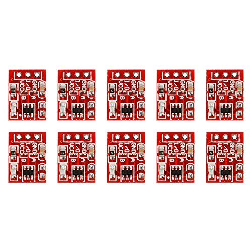 10Pcs 2.5V-5.5V TTP223 Capacitive Touch Switch Button Self-Lock Module for Arduino DIY Microwave Radar