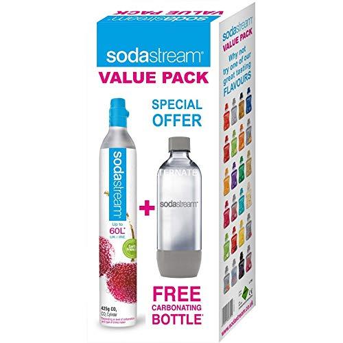 SodaStream Reserve-Zylinder 60 l + 1 PET-Flasche