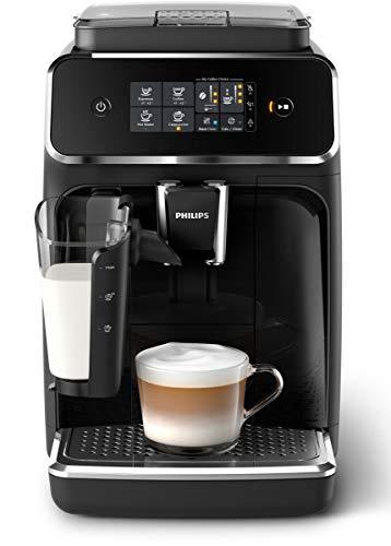 Philips 2200 Serie EP2231/40 Kaffeevollautomat LatteGo Milchsystem schwarz/klavierlack-schwarz
