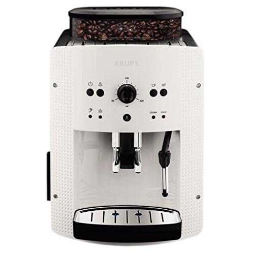 Krups EA8105 Kaffeevollautomat 1450 Watt, 1,8 Liter, 15 bar, CappuccinoPlus-Düse weiß