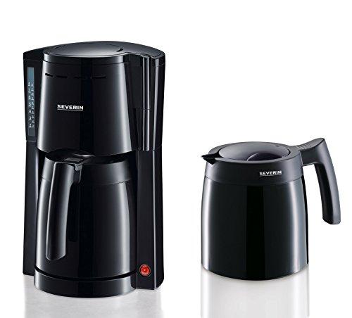 SEVERIN KA 9234 Kaffeeautomat mit 2 Thermokannen, schwarz