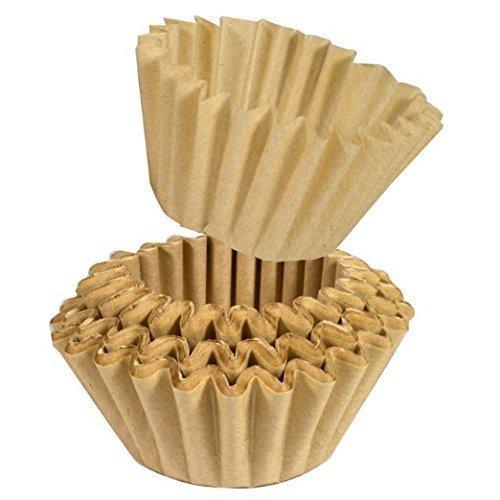 500 Filter Universal Papier-Korbfiltertüten für BEEM Fresh -Aroma-Perfect Deluxe und Freh-Aroma-Perfect DUO Kaffeemaschine mit Mahlwerk Beem kaffeefiltef