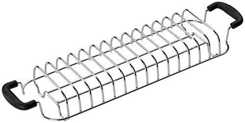 SMEG Brötchen-Röstaufsatz TSBW02, Metall, chrome/schwarz