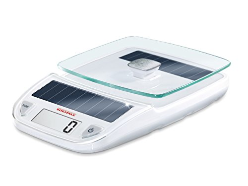 Soehnle 66183 Digitale Küchenwaage Easy Solar white