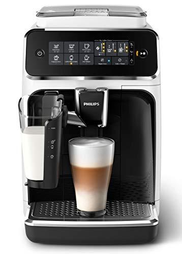 Philips 3200 Serie EP3243/50 Kaffeevollautomat LatteGo Milchsystem weiß/klavierlack schwarz