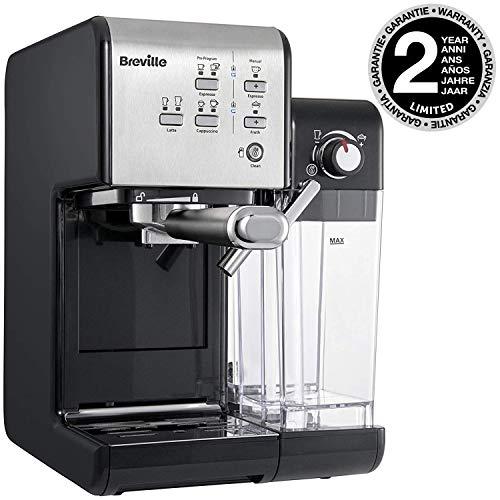 Breville VCF108X-01 Kaffeemaschine, Schwarz/Silber