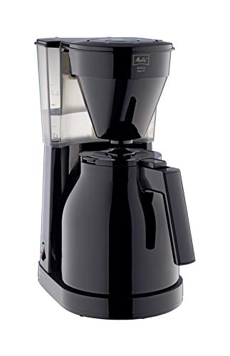 Melitta 1023-06 Easy Therm II Filterkaffeemaschine 1050, Kunststoff schwarz