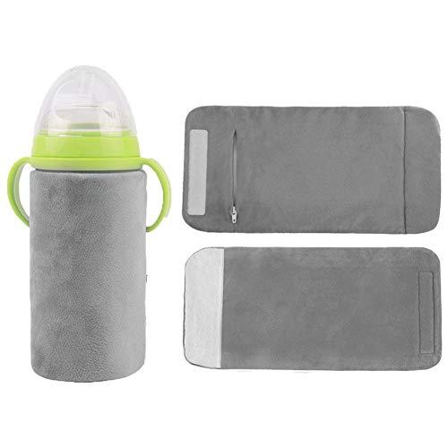 babyflaschen wärmer USB Babykostwärmer Isoliertasche, Sandwich-Isolierung Design, abnehmbarer Innenschuh, 42 ° C zirkulierende konstante Temperatur Heizung, kann für tragbare Stromquelle