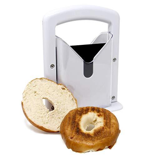 Bagelschneider-Guillotine | Sogar Bagels jedes Mal perfekt schneiden Präzisionsschneider für Toaster | Bagel Cutter Kitchen Geschenke & Gadgets | M&W