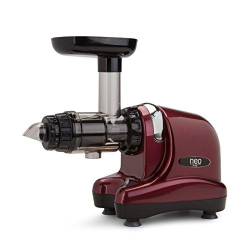 Neo Slow Juicer DA-1000 / Entsafter / Horizontaler Entsafter / Saftpresse – 200 Watt – extrem leise – BPA frei – 20 Jahre Garantie auf den Motor