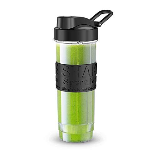 Smoothie Flaschen, FOCHEA Mixer Smoothie Maker Trinkflasche/Tritan flasche/Wasserflasche 570ml BPA-frei für Shake Smoothie Maker