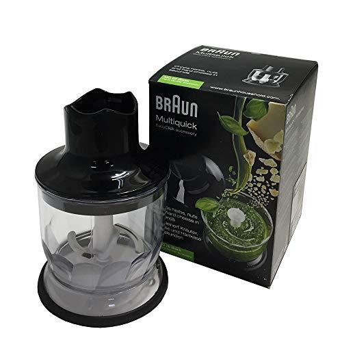 Braun MultiQuick MQ 20 EasyClick Zerkleinerer 350 ml, schwarz