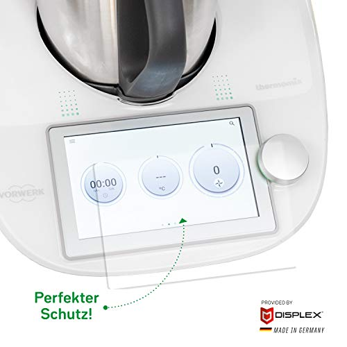 Wundermix HYBRID-GLAS   Displayschutz für Thermomix TM6   Made in Germany
