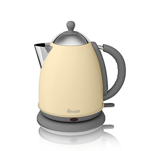 Swan Retro Jug Kettle Cream 1.7L
