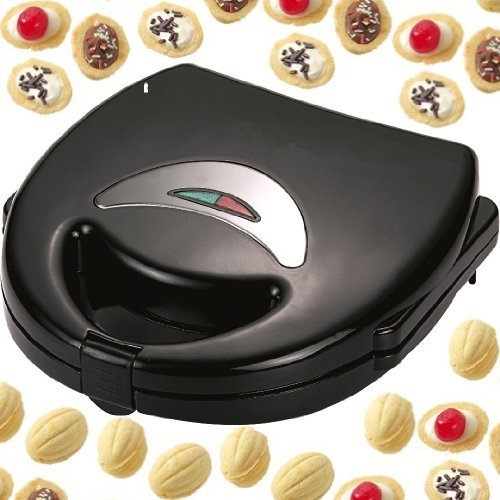 Syntrox Germany Chef Maker NM-750W Nuss-Wunder Nussbäcker Waffeleisen
