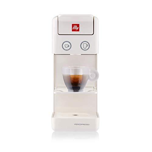 illy Kaffee, Kaffemaschine für Iperespresso Kapseln Y3.2 Weiß