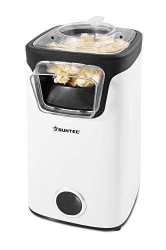 SUNTEC Heißluft-Popcornautomat POP-8618 fat free Leckeres Popcorn ohne Fettzugabe, rotierendes Heißluft-Funktionsprinzip ohne Anbrennen, max. 60 g Mais, max. 1100 W