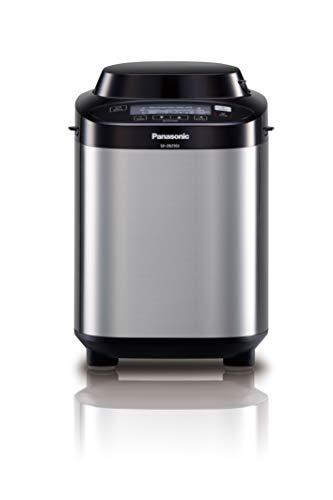 Panasonic, SD-ZB2502BXC Edelstahl-Brotbackmaschine mit glutenfreiem Programm Einzeln 24.9 x 38.1 x 38.1 cm silber